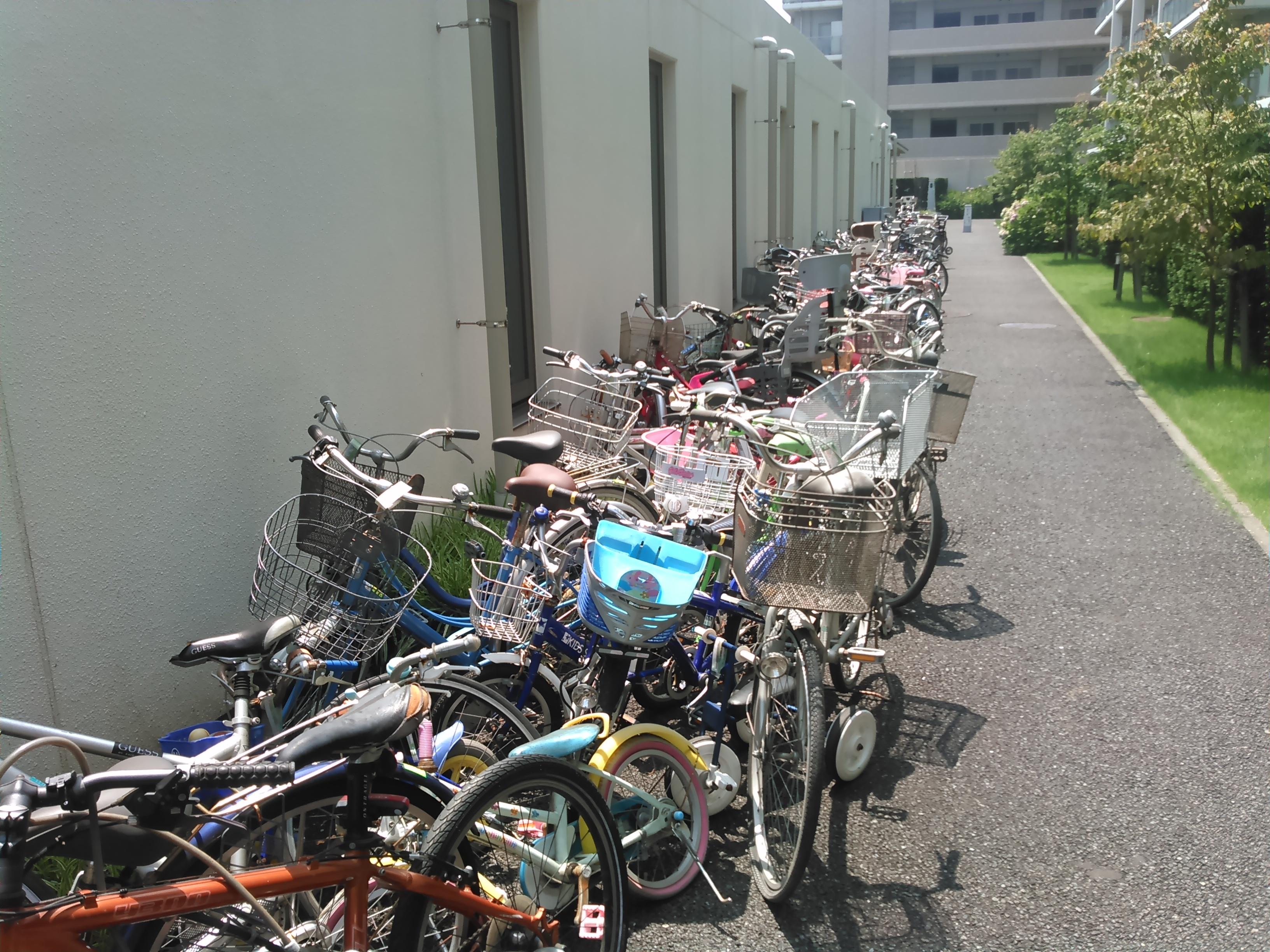 自転車の 自転車 回収 横浜市 : 横浜市港北区不要自転車撤去 ...
