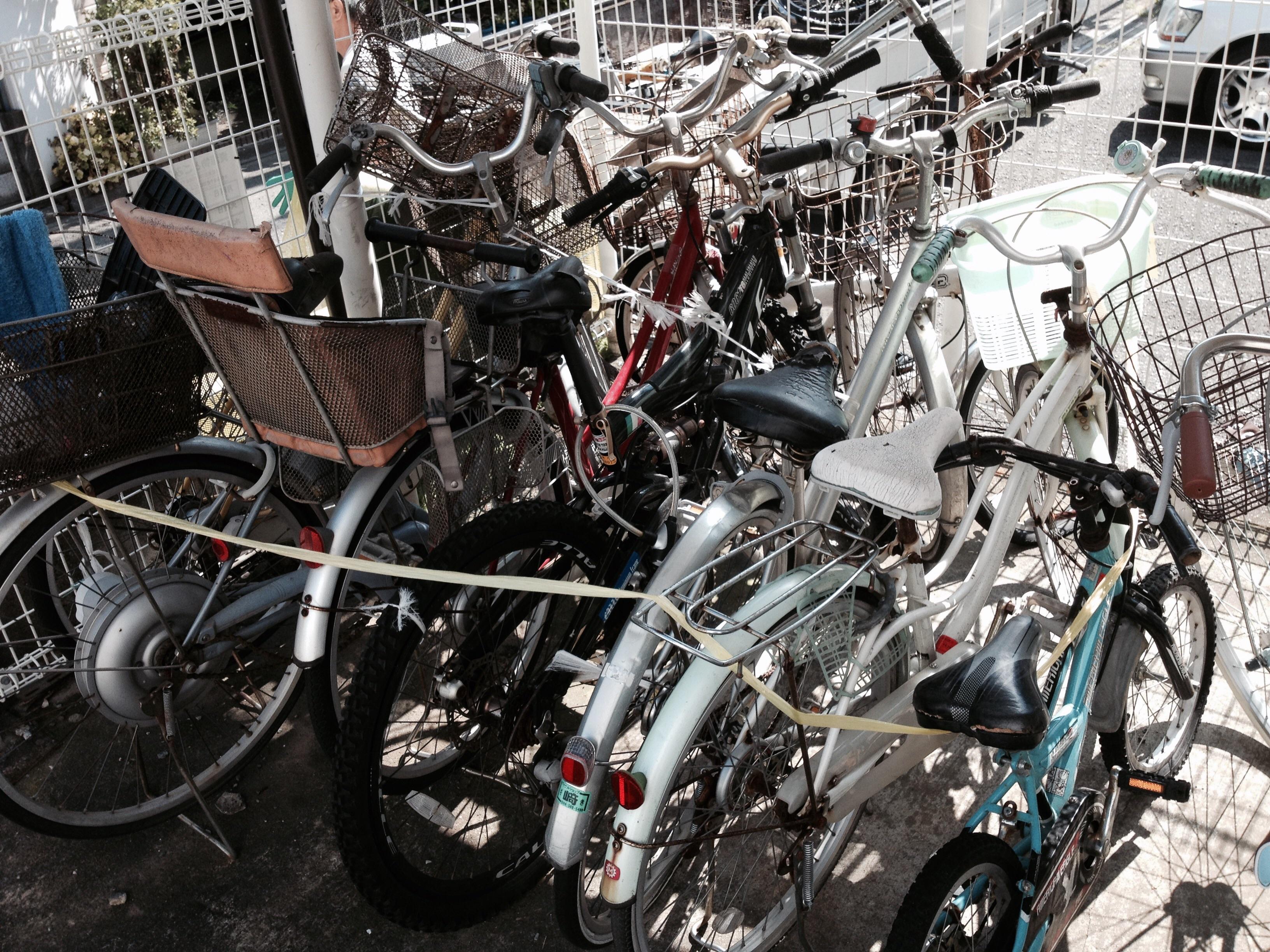 自転車の 茅ヶ崎 自転車 撤去 : 不動産会社様から3回目のご ...