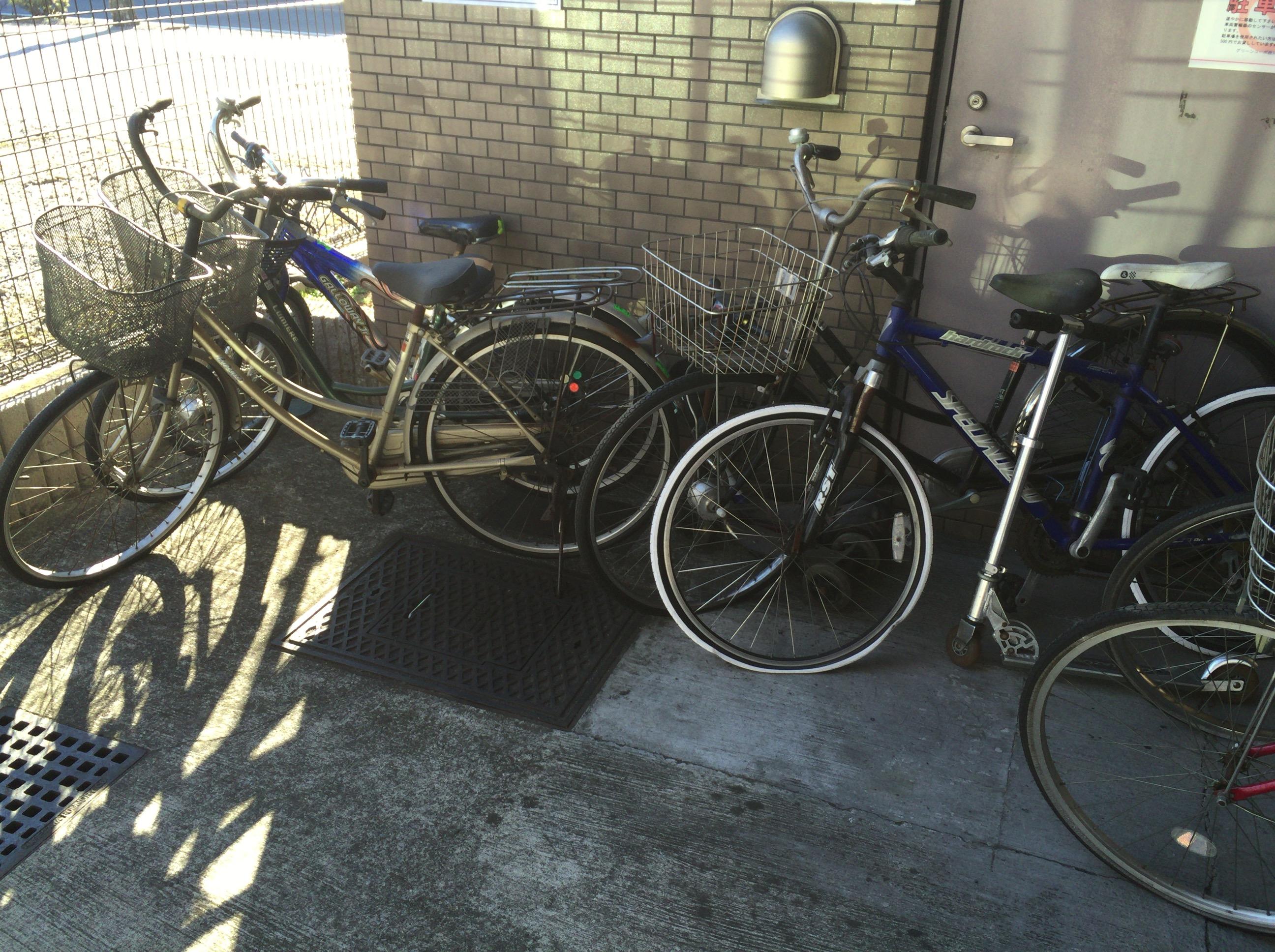 埼玉県川口市にて放置自転車を ...